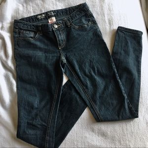 Mossimo Blue Skinny Jeans